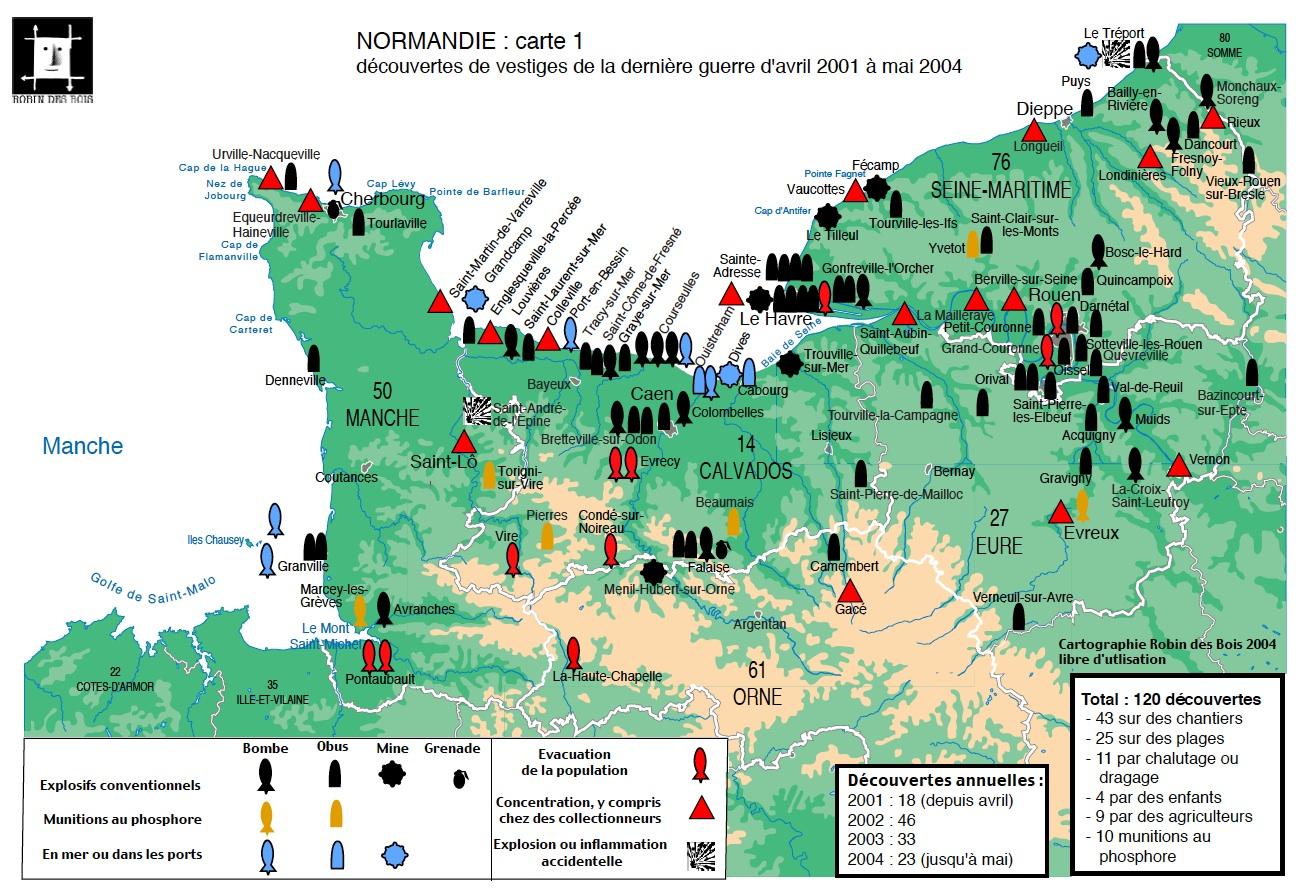 carte-dechets-guerre-normandie-2004RobindesBois