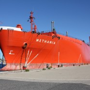 A Belgian LNG carrier stranded in Marseille