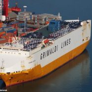 """New fire on a """"Grande"""" from Grimaldi Lines"""