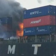 Container ships are bombs