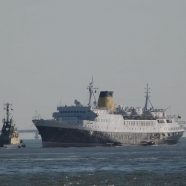 The old liner must not be scrapped in the old-fashioned way