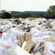 Décharge sauvage en Ile-de-France