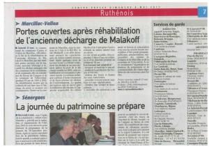 Centre Presse, 8 mai 2011