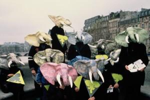 Robin des Bois pour les éléphants, Paris 1989
