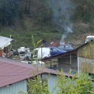 Brûlage à ciel ouvert dans l'Aveyron