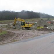 Dépôt de terres polluées et de gravats de démolition à Claville-Motteville