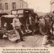 Robin des Bois et la Benne n°40 vous souhaitent une Bonne Année